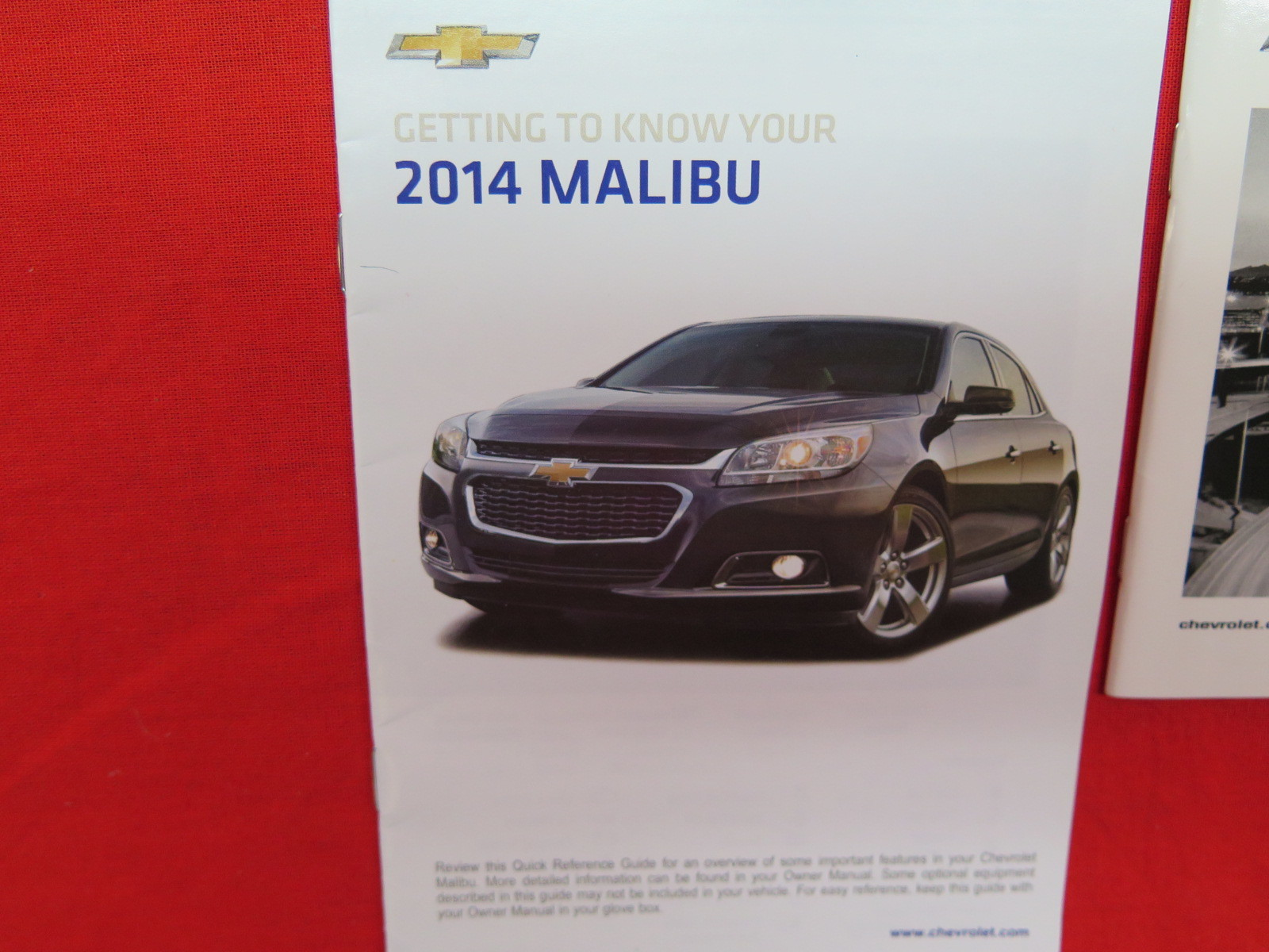 2016 chevy malibu owners manual