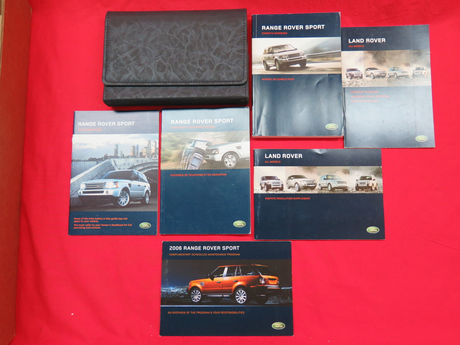 Purchase 2006 Range Rover Sport Owners Manual Guide Book