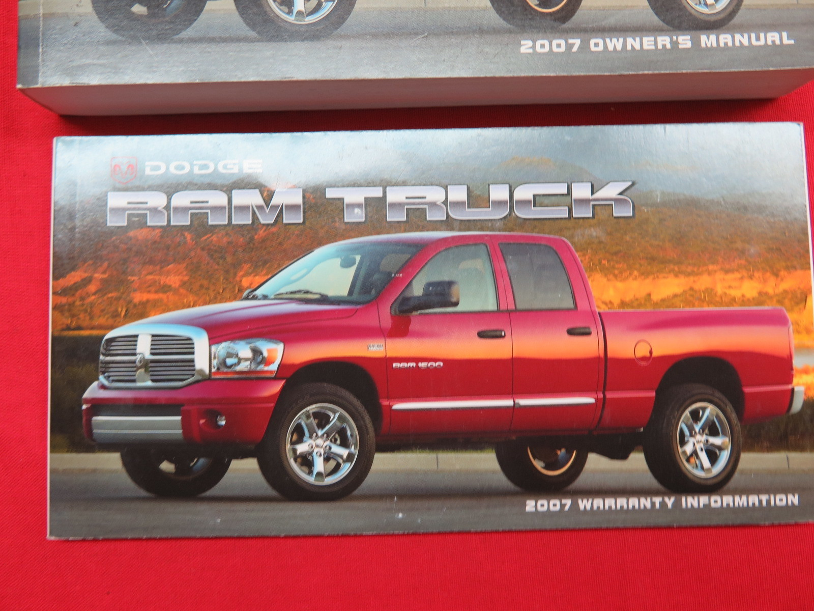 2007 Dodge Ram Truck Owners Manual Guide Book | eBay