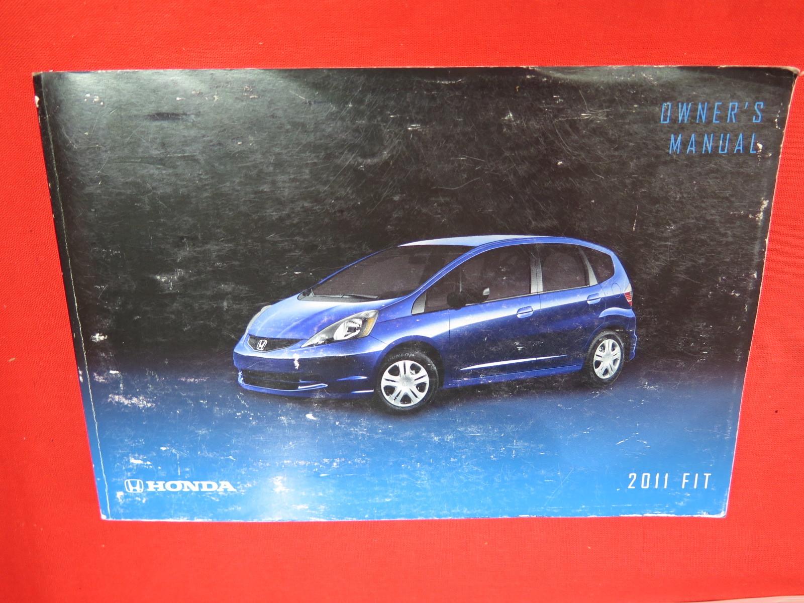 2011 Honda Fit Owners Manual Guide Book