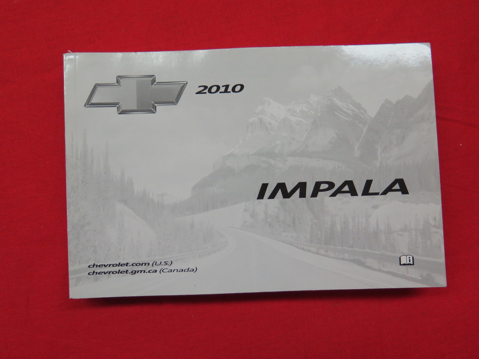 2010 chevy chevrolet impala owners manual guide book