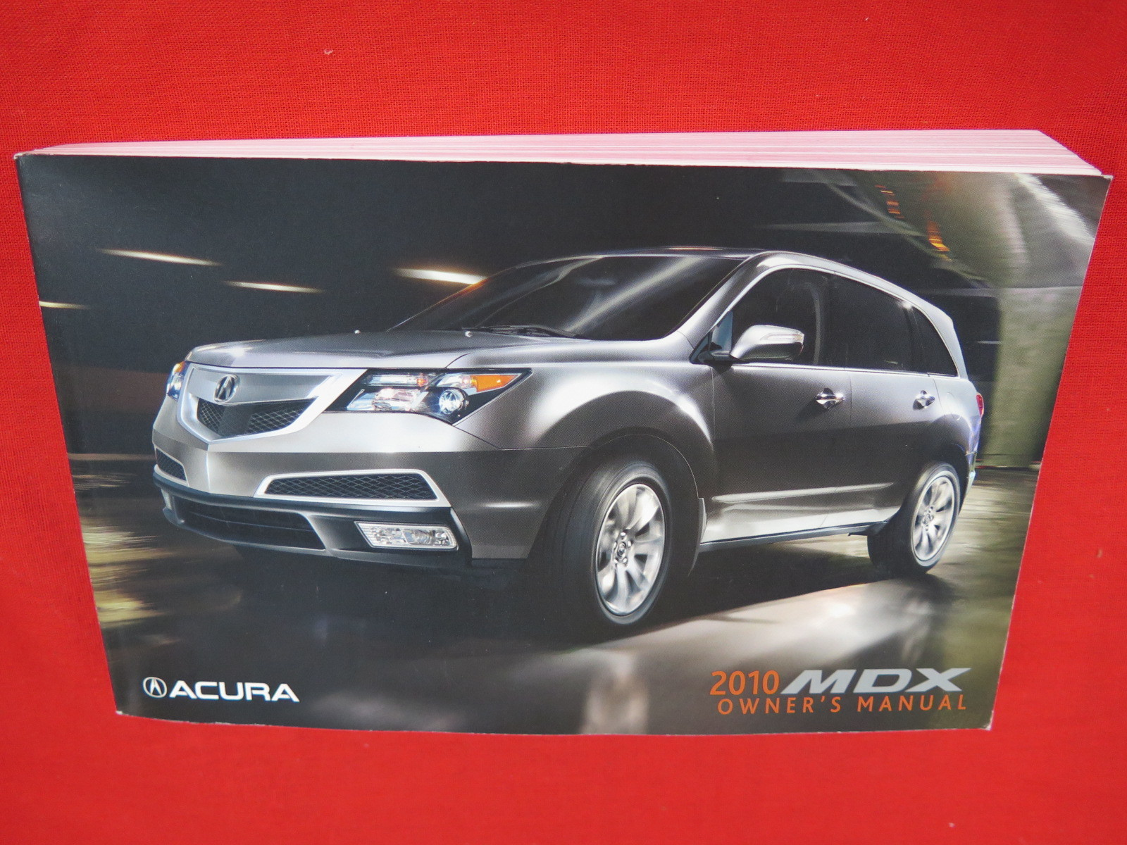 2010 Acura MDX Owners Manual Guide Book