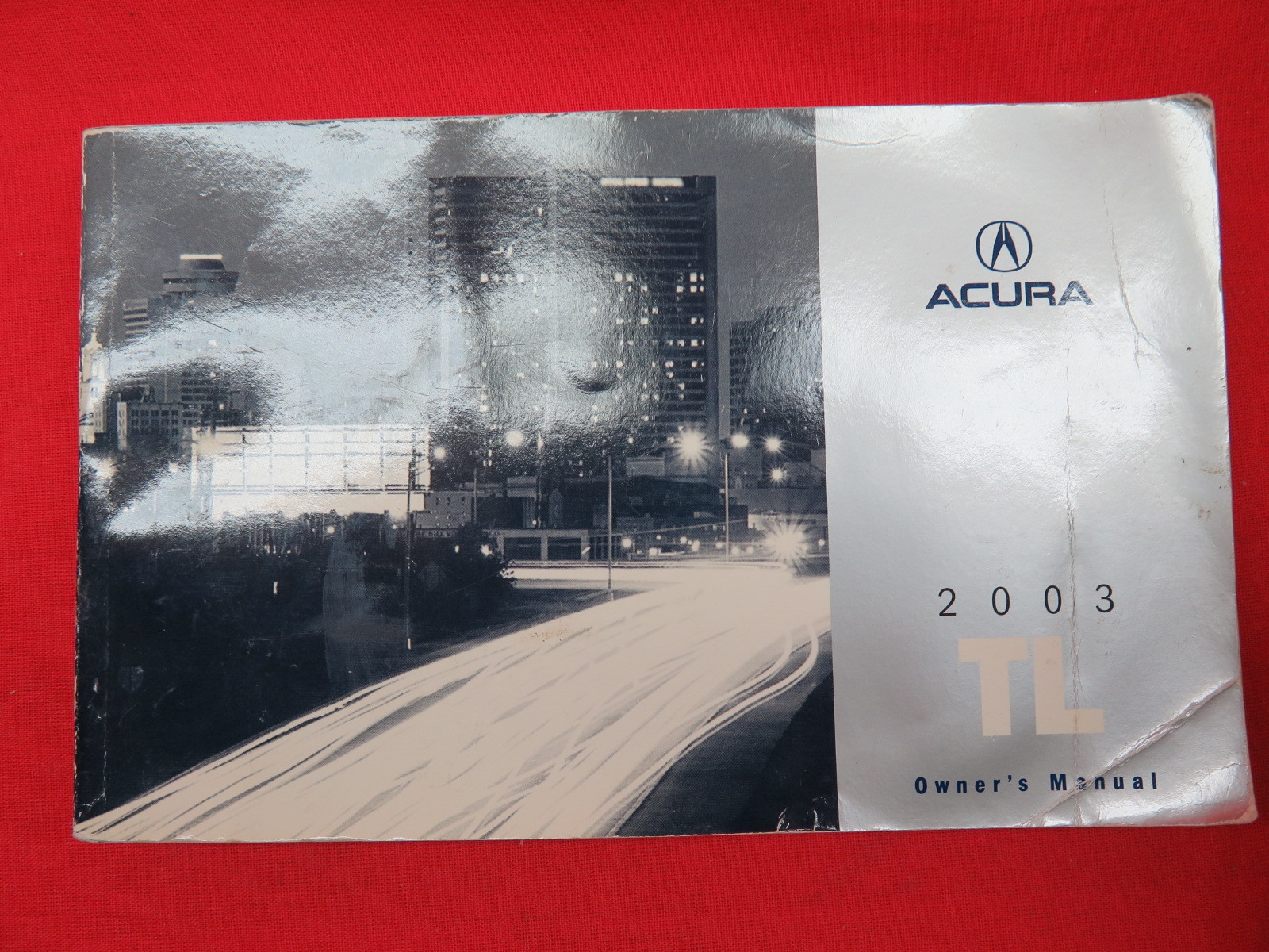 2003 Acura TL Owners Manual Guide Book
