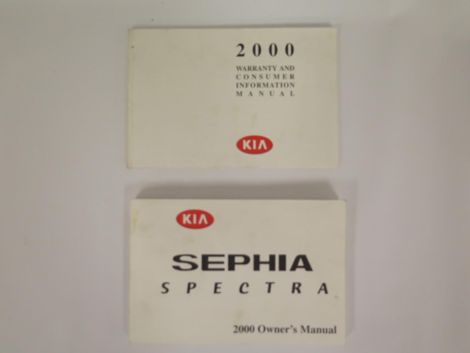 2000 kia sephia spectra owners manual book bashful yak rh bashfulyak com Kia Sorento 2000 Kia Sephia MPG