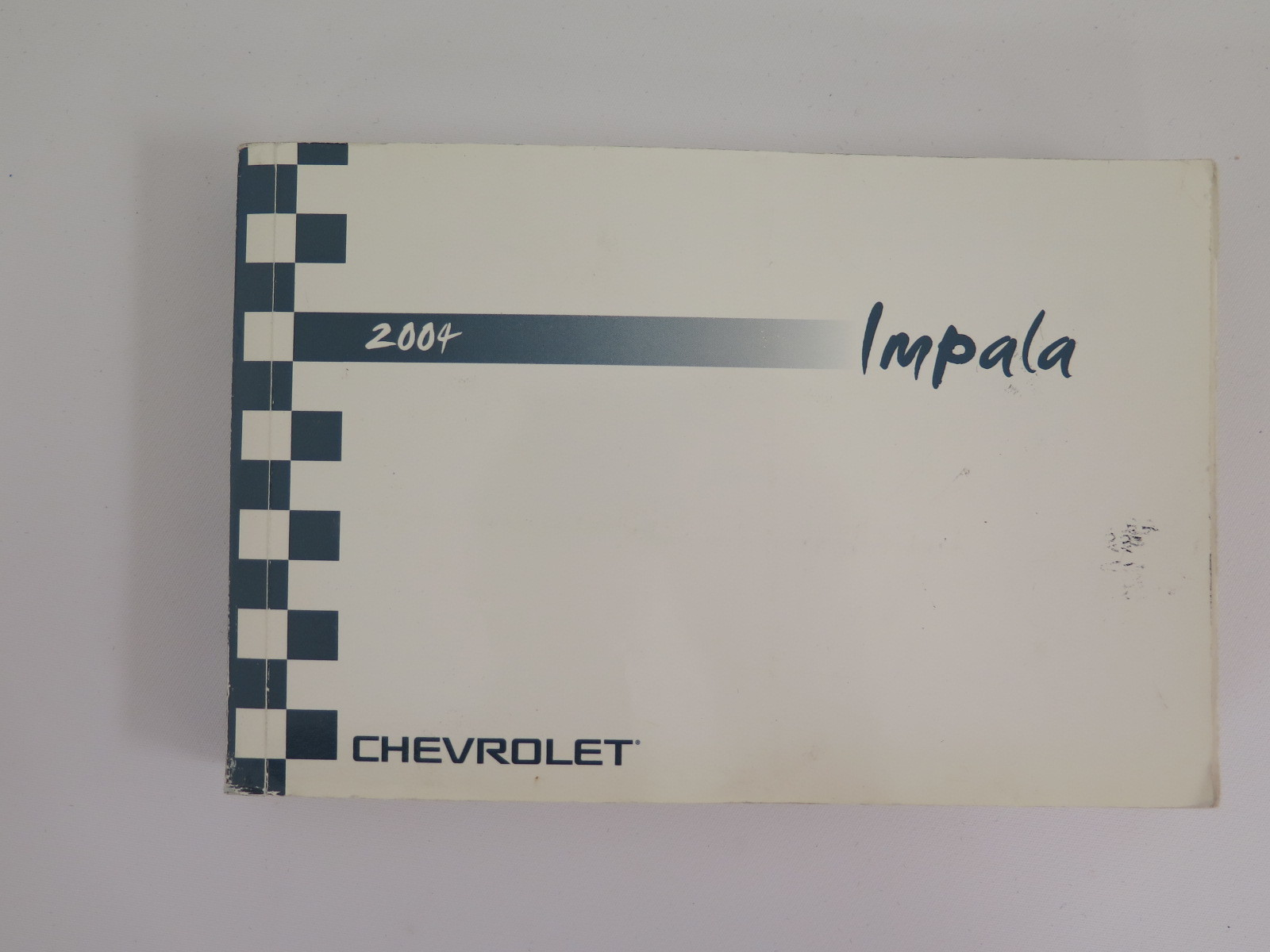 2004 chevy chevrolet impala owners manual book