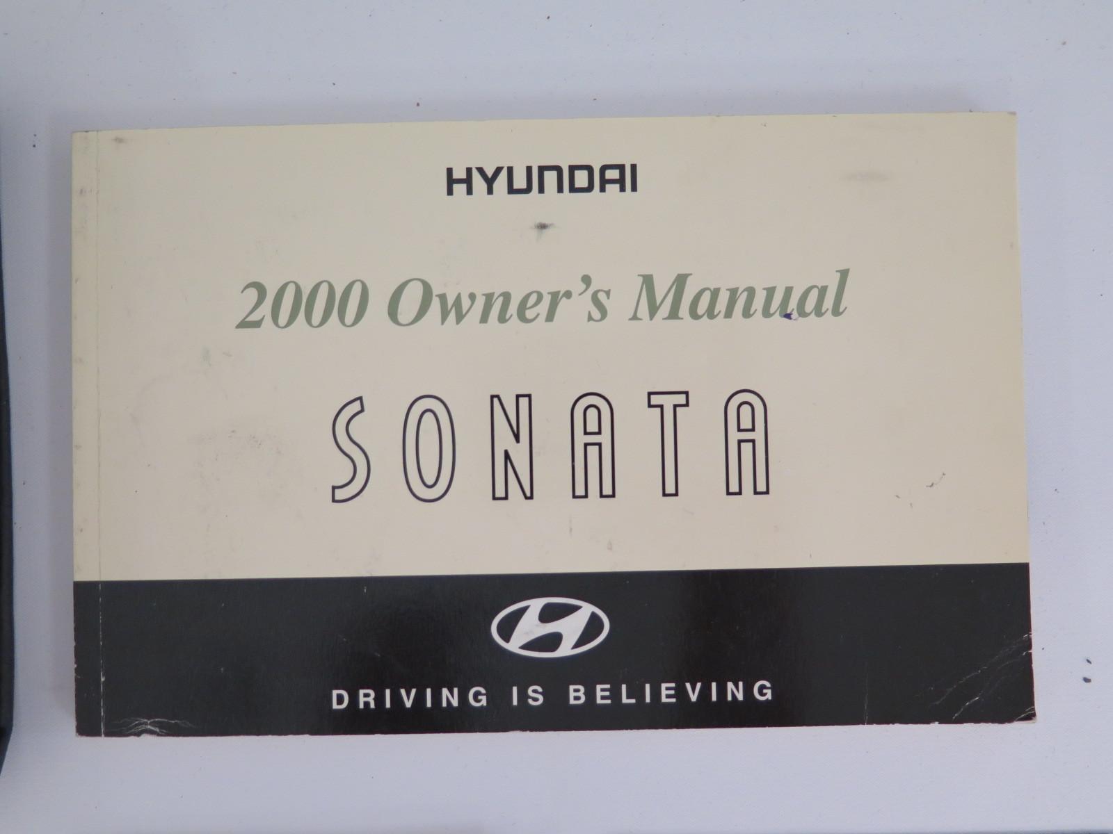 2000 hyundai sonata owners manual book bashful yak rh bashfulyak com 2000 hyundai sonata repair manual Hyundai Sonata Manual Transmission
