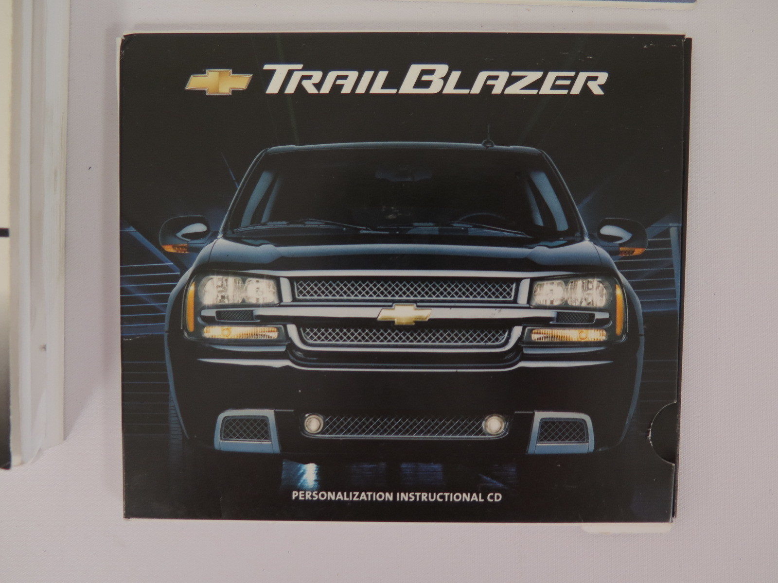 2006 chevy chevrolet trailblazer owners manual book bashful yak rh bashfulyak com owners manual for 2006 chevy trailblazer 2009 Chevrolet Trailblazer