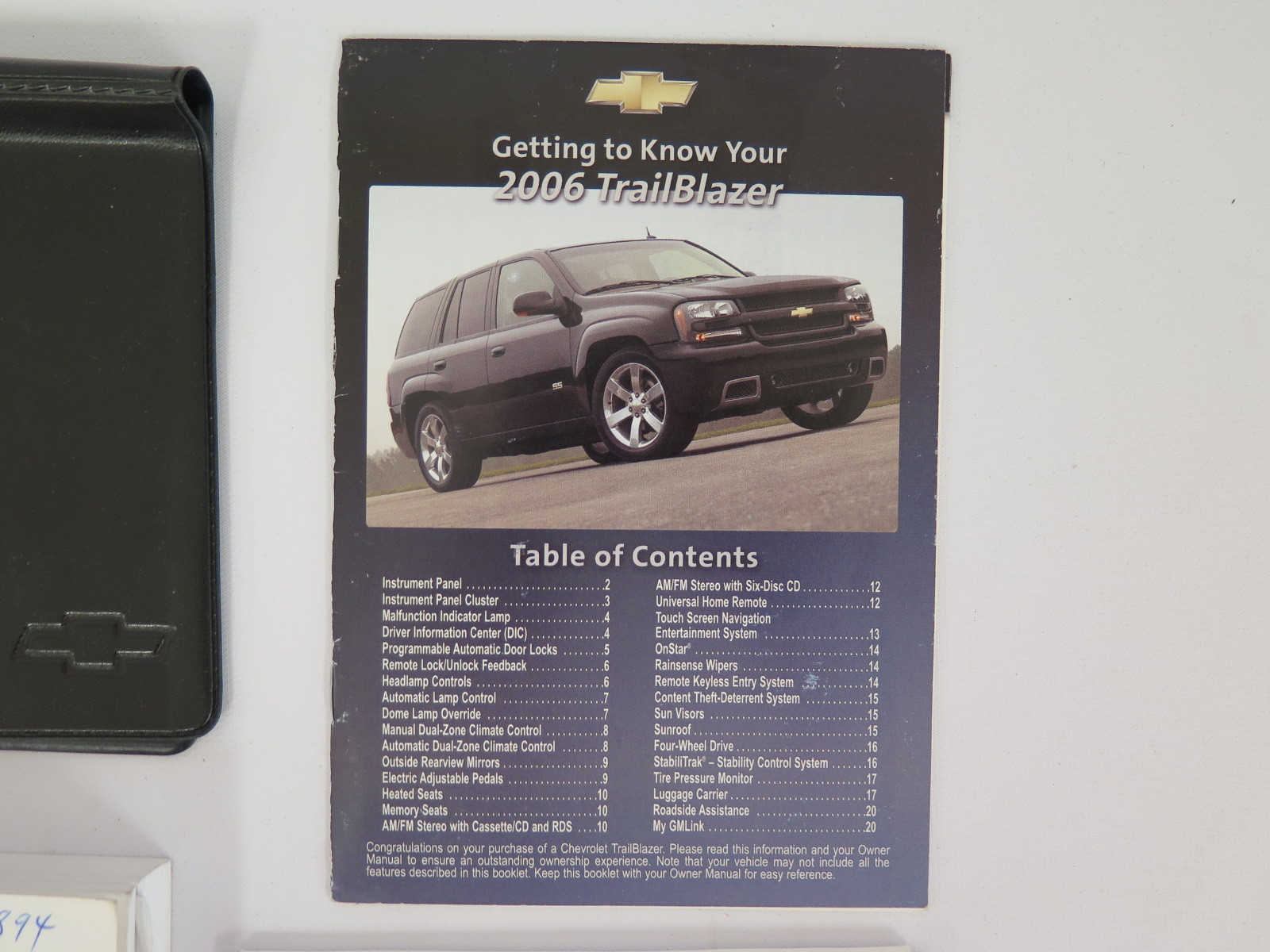 2006 chevy trailblazer manual book user guide manual that easy to 2006 chevy chevrolet trailblazer owners manual book bashful yak rh bashfulyak com 2006 chevy trailblazer lt fandeluxe Images