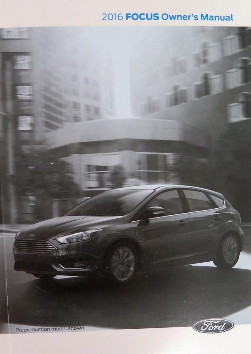 Ford Focus Owner Manual 2016 User Guide 2014 Owners Book Bashful Yak Rh Bashfulyak Com 2013 Se