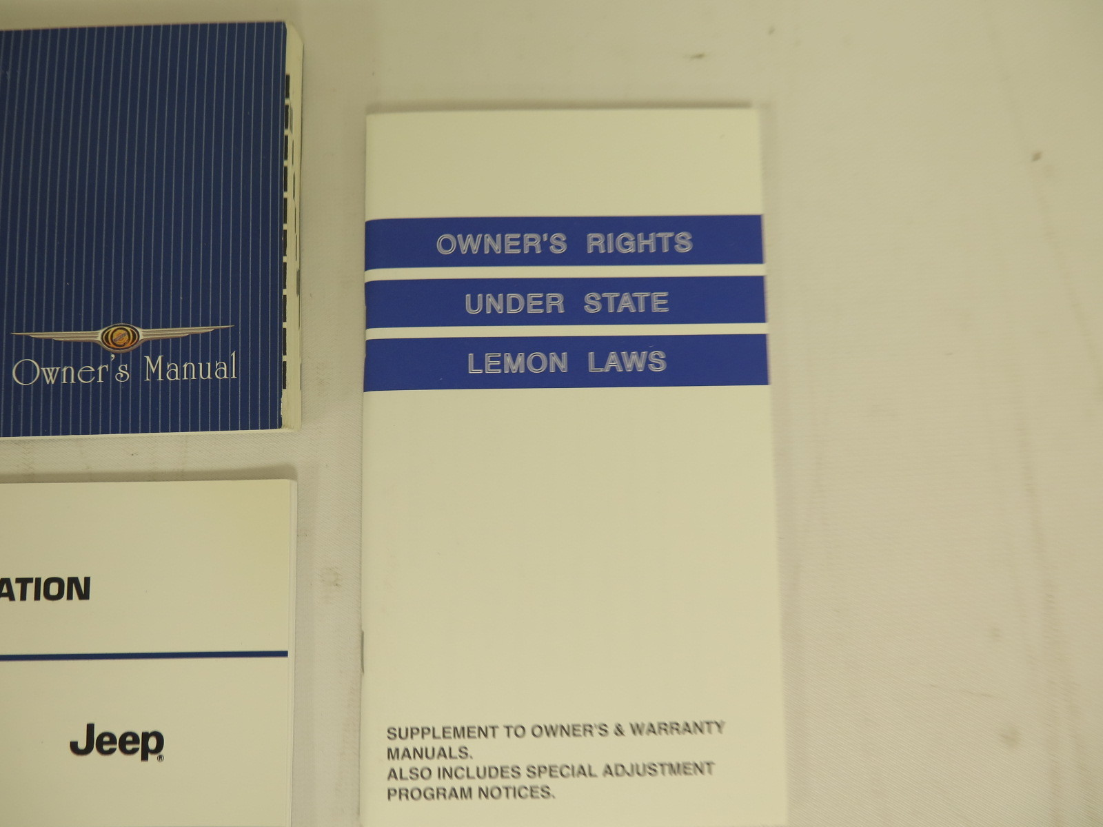 chrysler voyager 2003 owners manual
