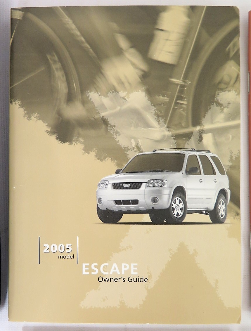 2005 ford escape owners manual book bashful yak rh bashfulyak com 2005 ford escape owners manual 2005 ford escape xlt owners manual