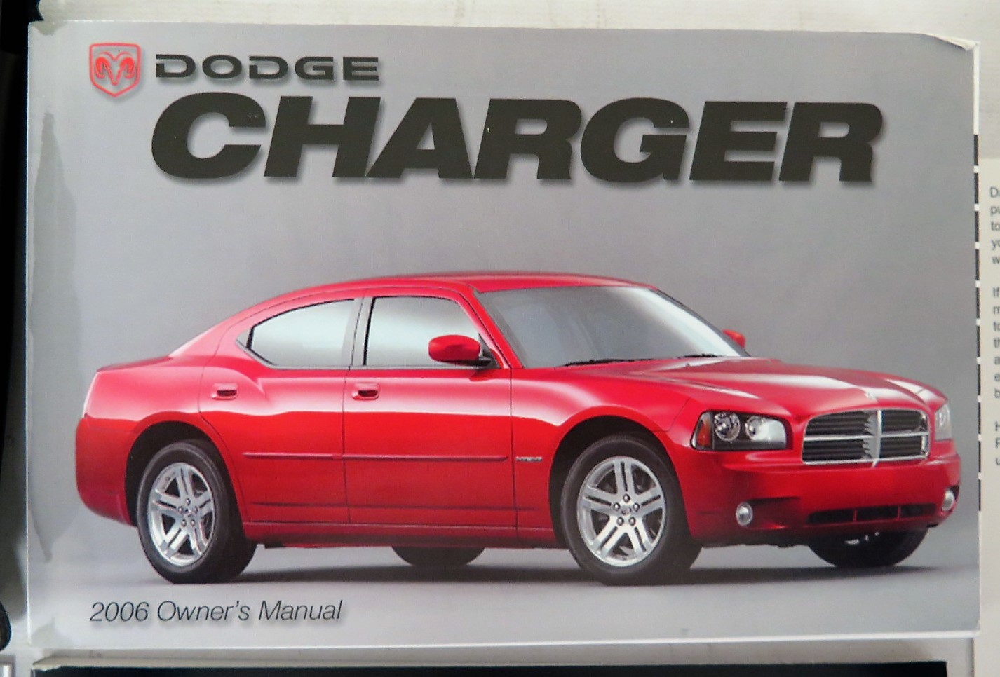 2006 dodge charger owners manual book bashful yak rh bashfulyak com 2006 dodge charger owners manual pdf 2006 dodge charger rt owners manual