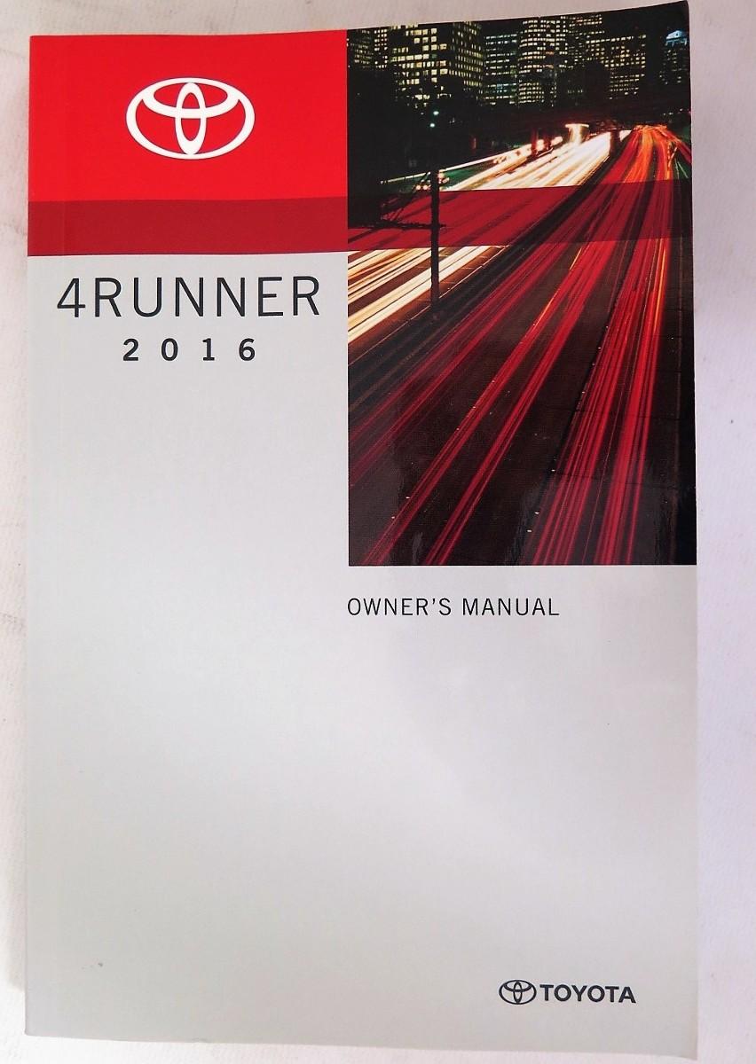 2016 toyota 4runner owners manual book bashful yak rh bashfulyak com 4runner owners manual 2014 4runner owners manual 2016