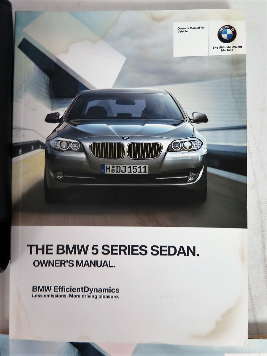 2013 bmw 5 series 528i 535i 550i xdrive owners manual book rh bashfulyak com 2011 bmw 550i owners manual bmw m550i owners manuals