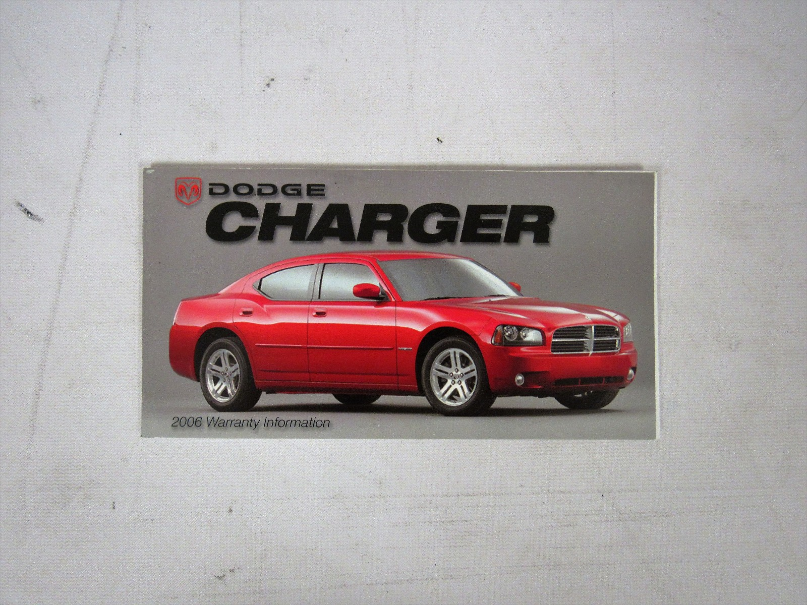 2006 dodge charger owners manual book bashful yak rh bashfulyak com owners manual 2006 dodge charger se 2006 Dodge Charger RT