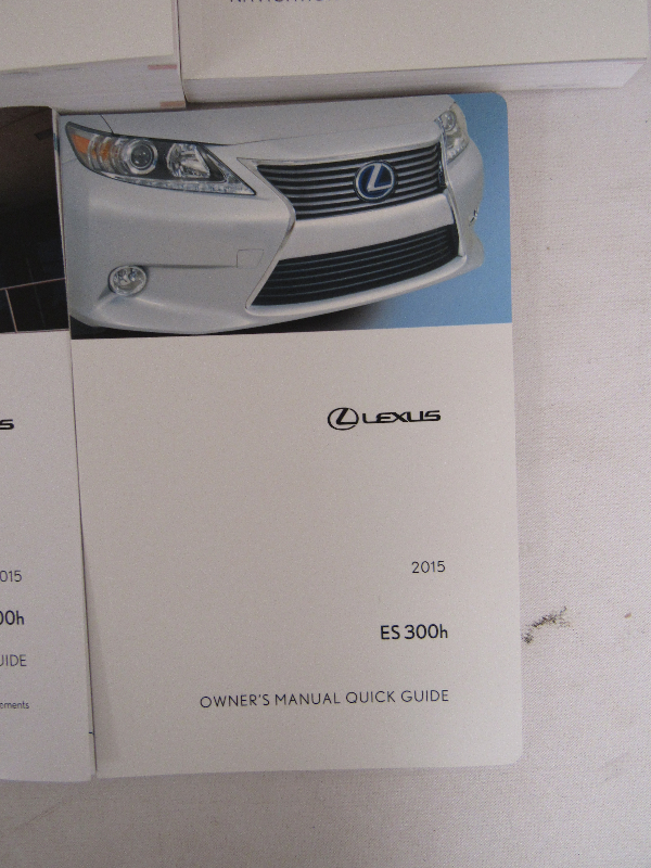 lexus 2013 es300h owners manual