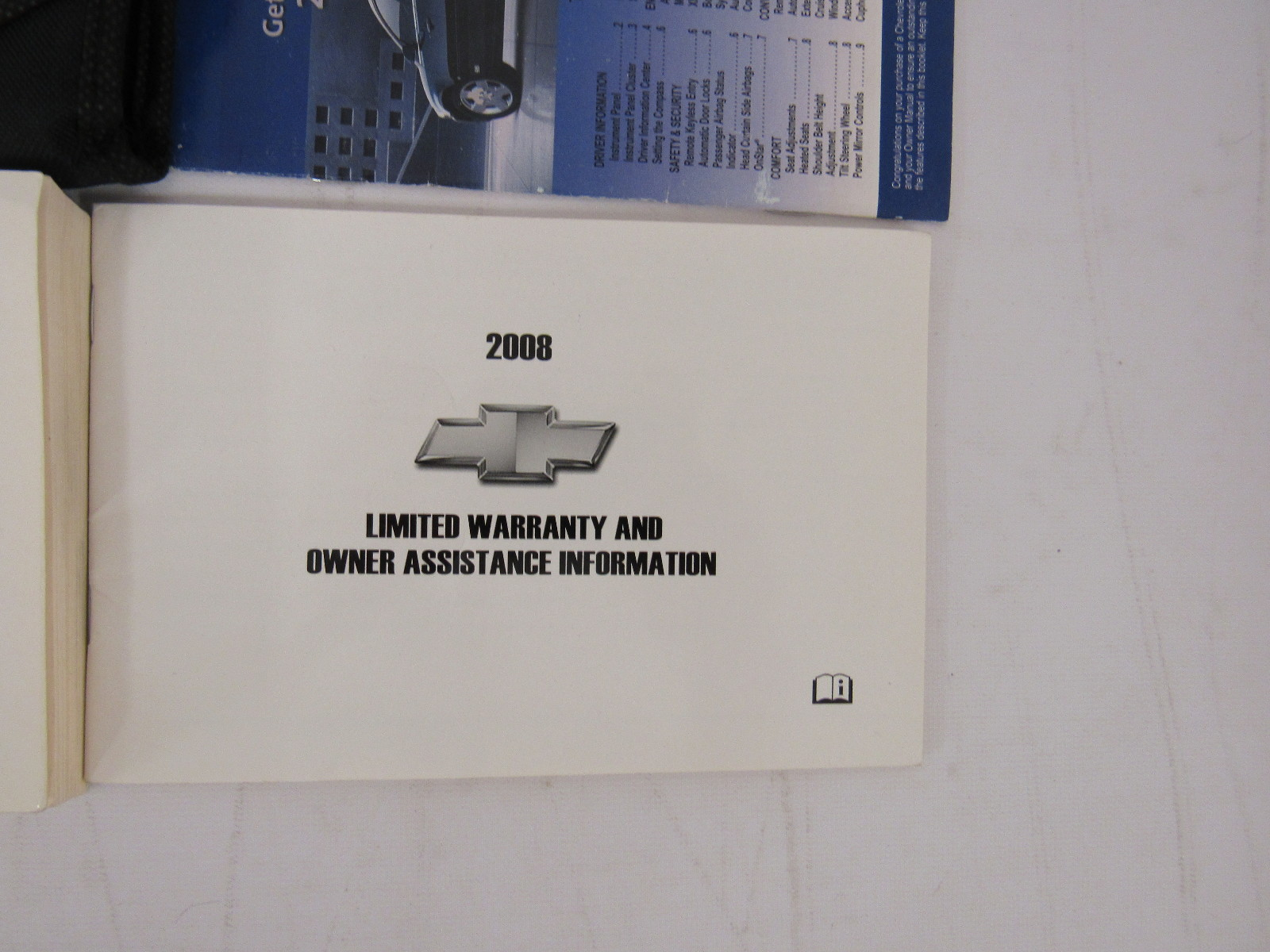 2008 chevy chevrolet impala owners manual guide book