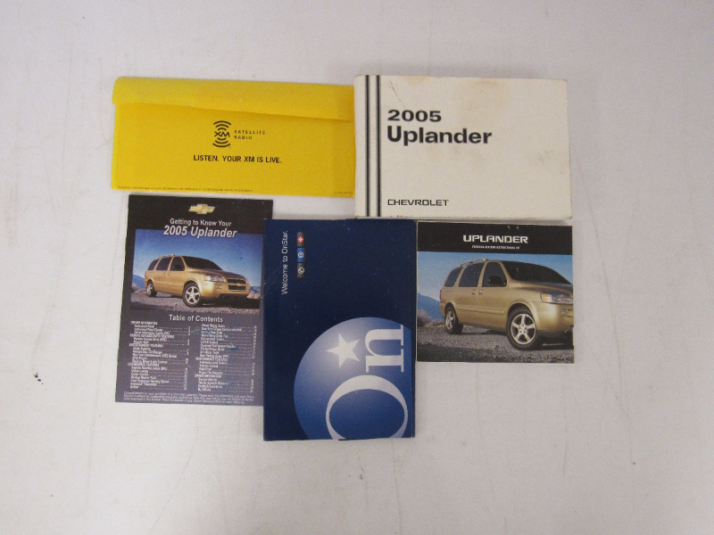 2005 chevy chevrolet uplander owners manual book bashful yak rh bashfulyak com 2005 chevy uplander repair manual pdf 2007 Chevy Uplander Service Manual