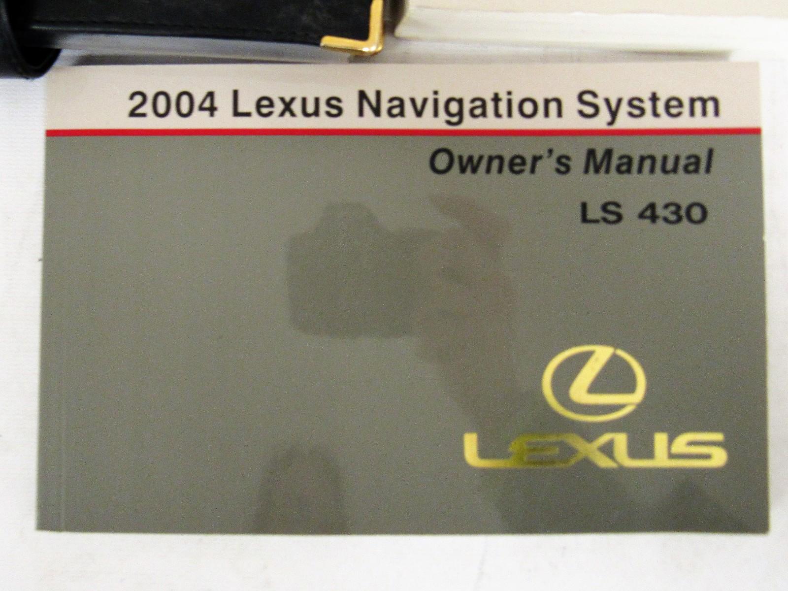 2004 lexus ls 430 owners manual book bashful yak rh bashfulyak com 2004 lexus ls430 repair manual 2004 lexus ls430 repair manual