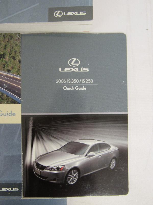 2006 lexus is 350 is 250 owners manual book bashful yak rh bashfulyak com 2006 lexus rx 350 owners manual pdf 2006 lexus gs 350 owners manual