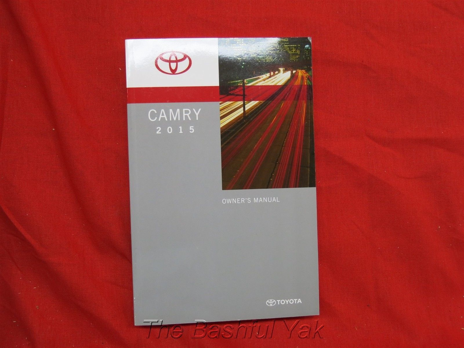 2015 toyota camry owners manual guide book ebay. Black Bedroom Furniture Sets. Home Design Ideas