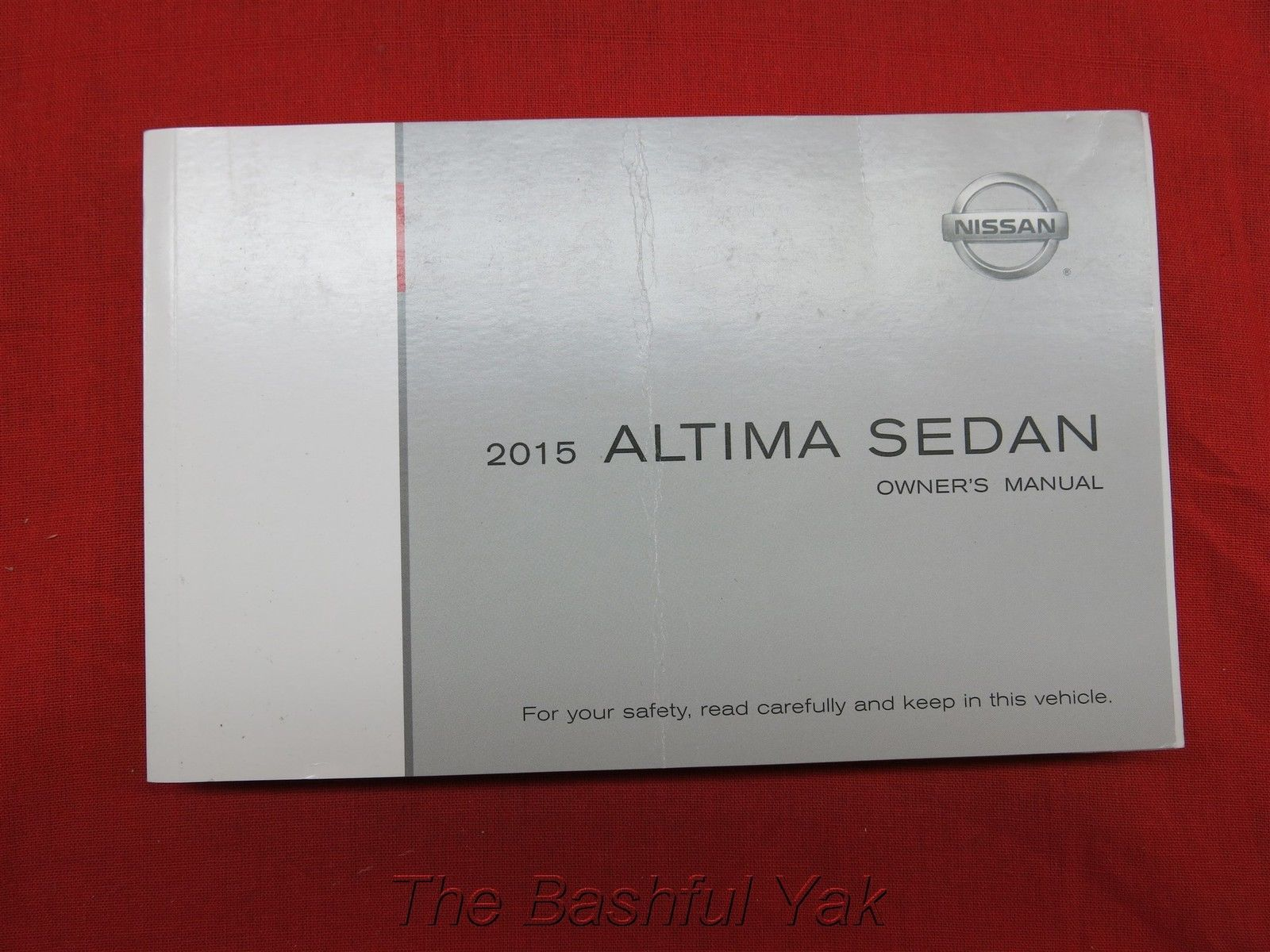 2015 nissan altima sedan owners manual guide book ebay 2003 Nissan Maxima Owners Manuals Nissan Owners Manual PDF