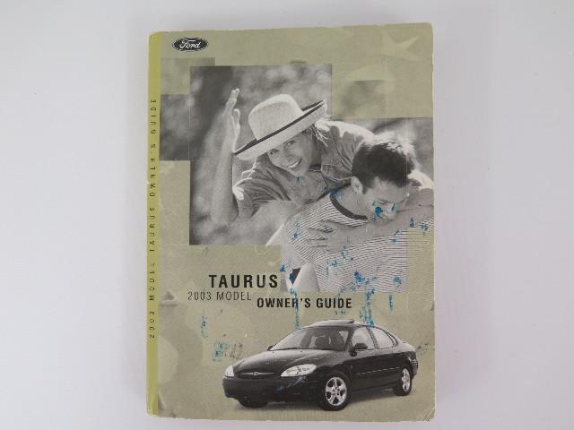 2003 ford taurus owners manual book bashful yak rh bashfulyak com 2004 taurus owners manual 2000 taurus owners manual