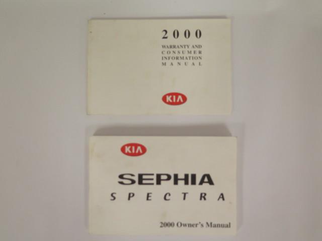 2000 kia sephia spectra owners manual book bashful yak rh bashfulyak com 2000 kia sephia repair manual 2000 kia sephia repair manual