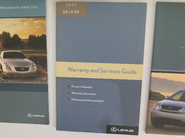 find 2007 lexus rx 350 owners manual book motorcycle in magna utah rh 2040 parts com 2008 RX 350 2010 RX 350