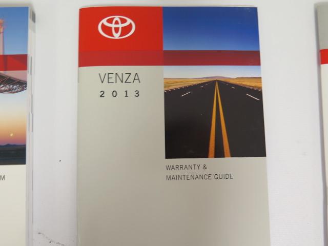 2013 toyota venza owners manual book ebay toyota venza service manual 2009 toyota venza service manual