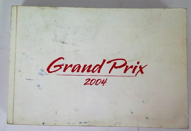 2004 pontiac grand prix owners manual book bashful yak rh bashfulyak com 2004 pontiac grand prix repair manual 2004 pontiac grand am repair manual free
