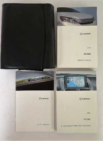 2010 lexus hs 250h owners manual book bashful yak rh bashfulyak com 2010 Lexus HS 250H 2012 Lexus HS 250H