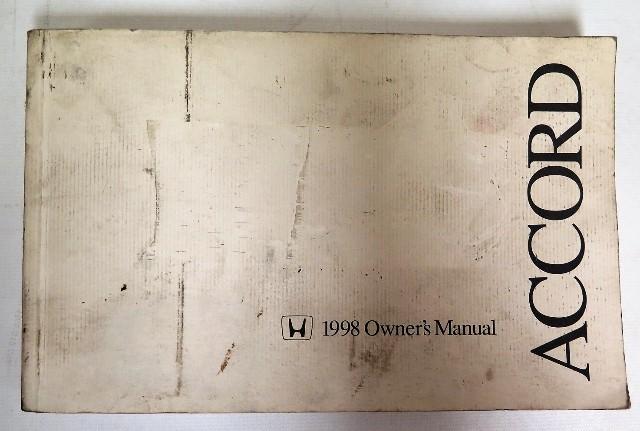 1998 honda accord sedan owners manual book bashful yak rh bashfulyak com 1998 honda accord ex v6 owners manual 1998 Honda Accord Models