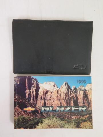 1999 chevrolet blazer owners manual guide book bashful yak rh bashfulyak com 1999 chevy blazer service manual pdf 1999 Chevy Blazer 4x4