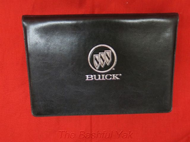 2000 buick lesabre owners manual with case ebay. Black Bedroom Furniture Sets. Home Design Ideas