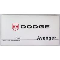 2008 dodge avenger owners manual book bashful yak rh bashfulyak com 2008 Dodge Nitro Problems 2009 Dodge Avenger