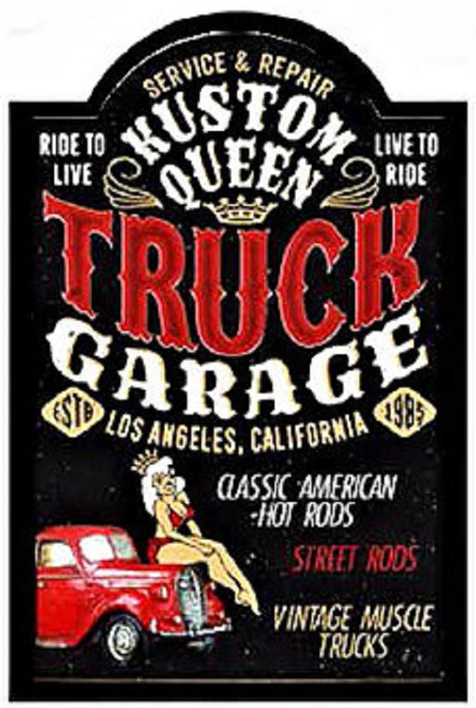 Truck garage service repair classic american hot rods 3d for American classics garage
