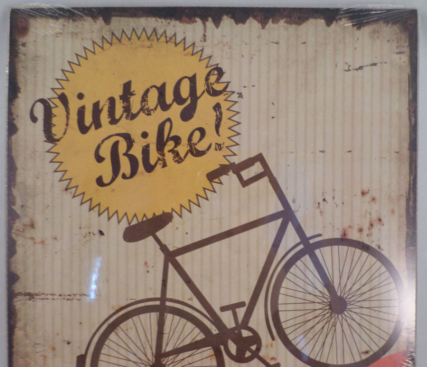 Vintage Wooden Signs Home Decor: Vintage Inspired Retro Bike Bicycle Decor Wooden Sign