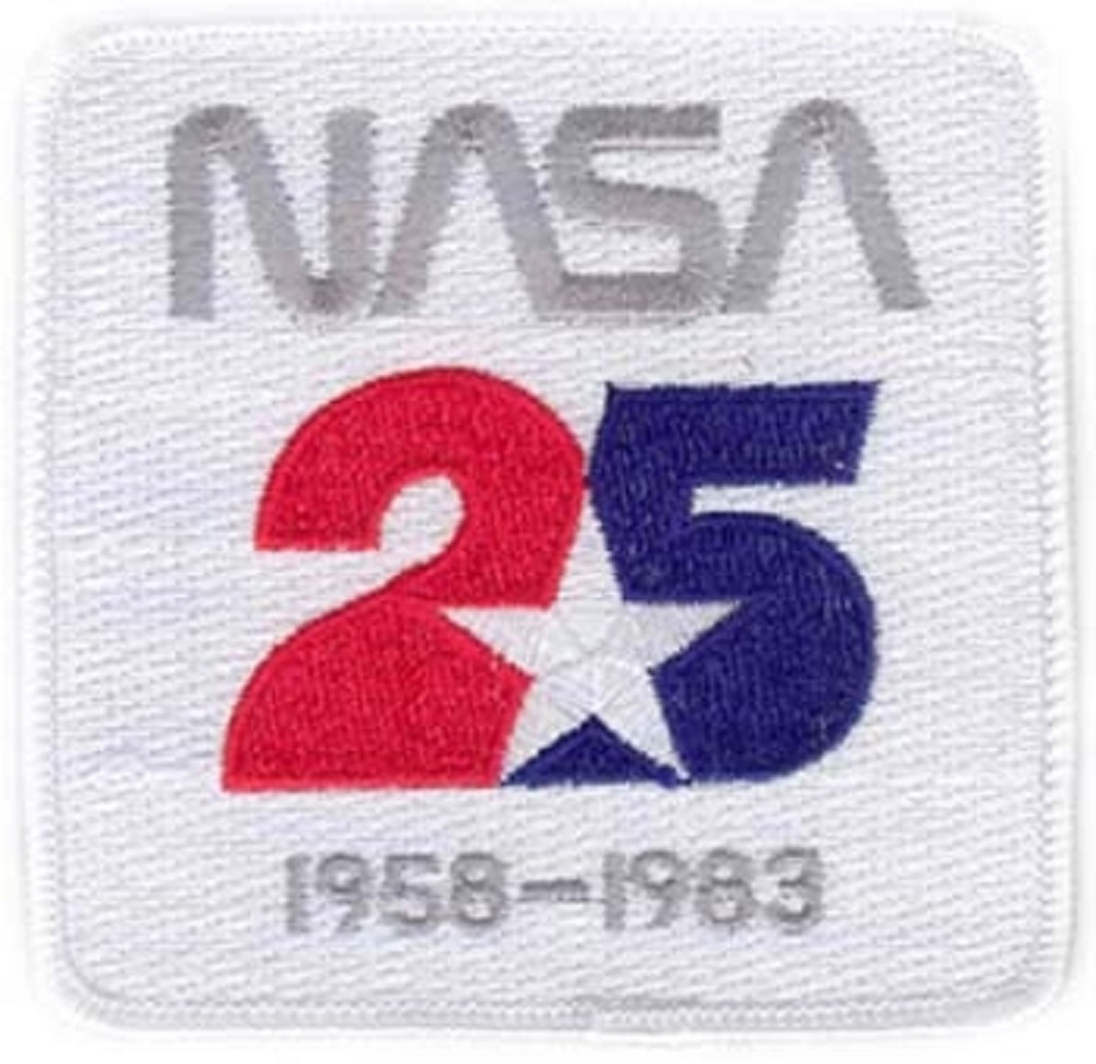 NASA 25 Year Anniversary 1958-1983 Uniform Patch ...