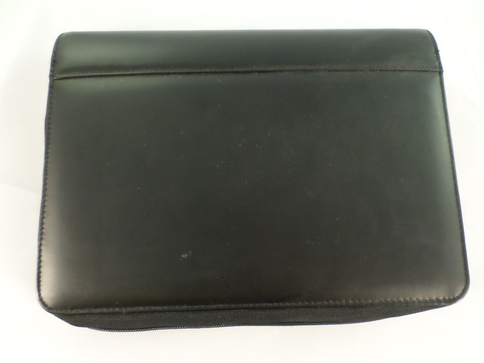 Franklin covey manmade faux leather black planner 365 w for Franklin covey business card holder