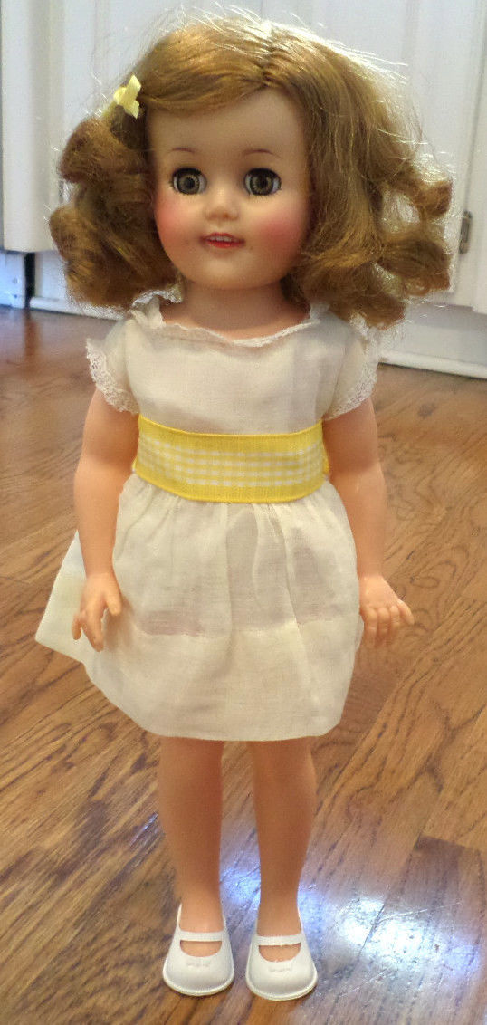 Vintage Vinyl Shirley Temple Doll 1972 Ideal Toy Corp 14