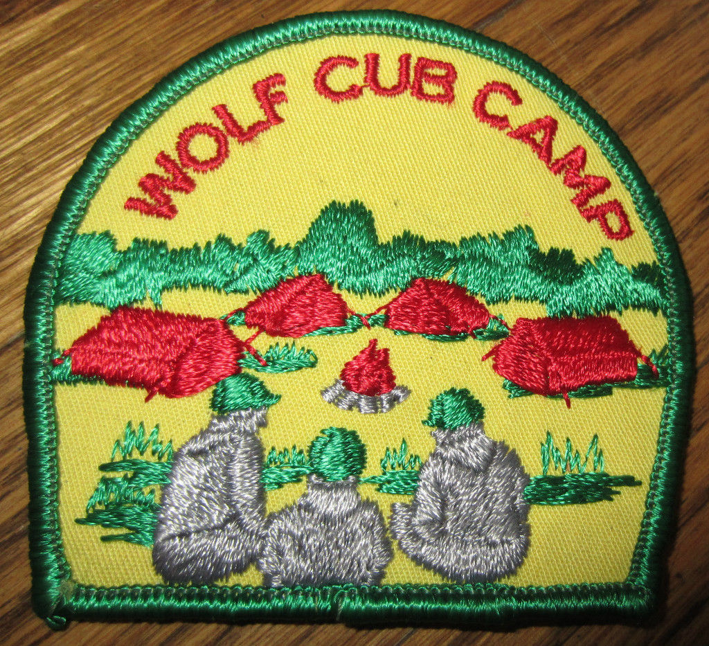 Wolf patch for cub scouts