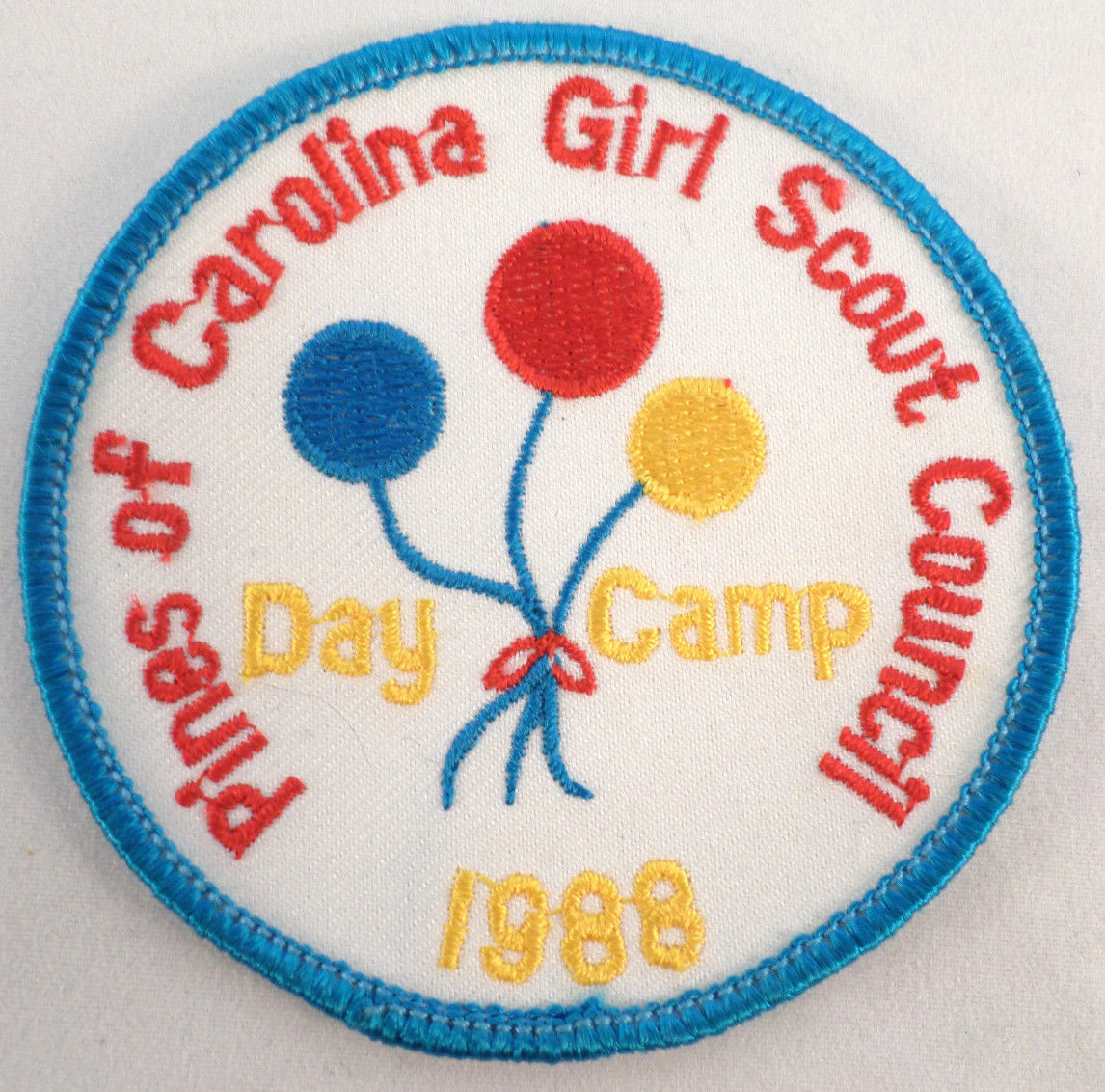 vintage girl scout pines of carolina council day camp 1988