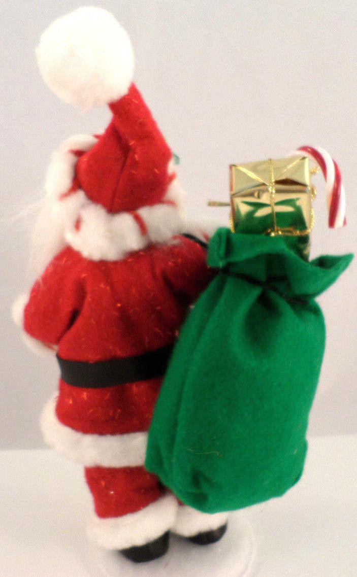 Sack Of Toys For Christmas : Annalee holiday santa claus with bag of gifts toys