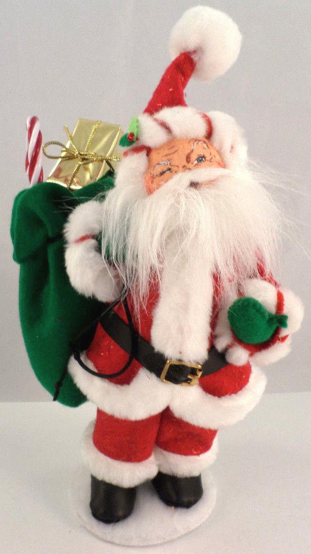 Santa S Bag Of Toys : Annalee holiday santa claus with bag of gifts toys
