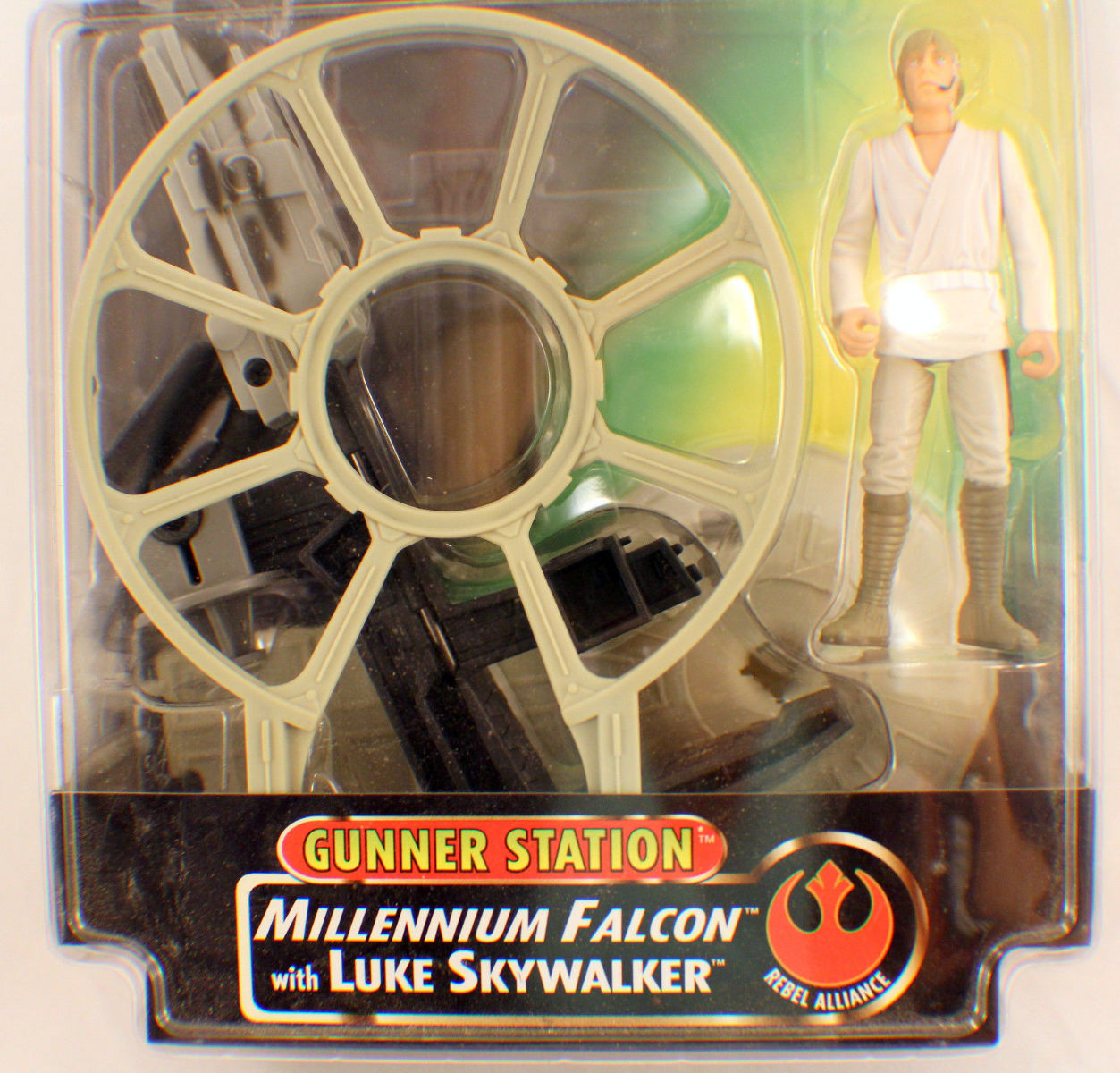 Star Wars Potf2 Anh Gunner Station Millennium Falcon With