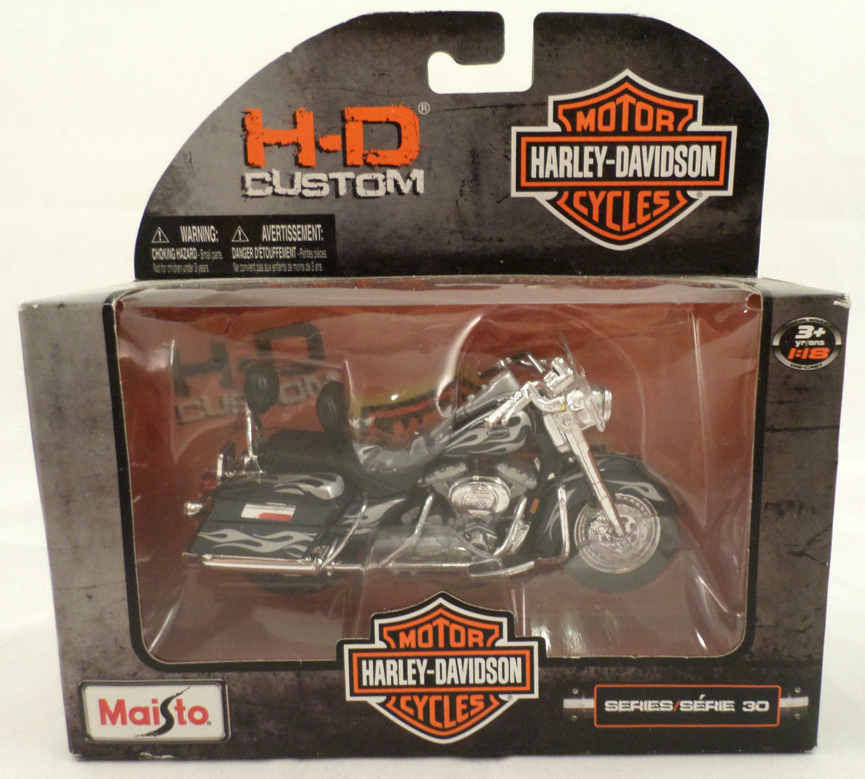 maisto 1 18th scale harley davidson motorcycle series 15 2001 flhrsei cvo custom dragonfly. Black Bedroom Furniture Sets. Home Design Ideas