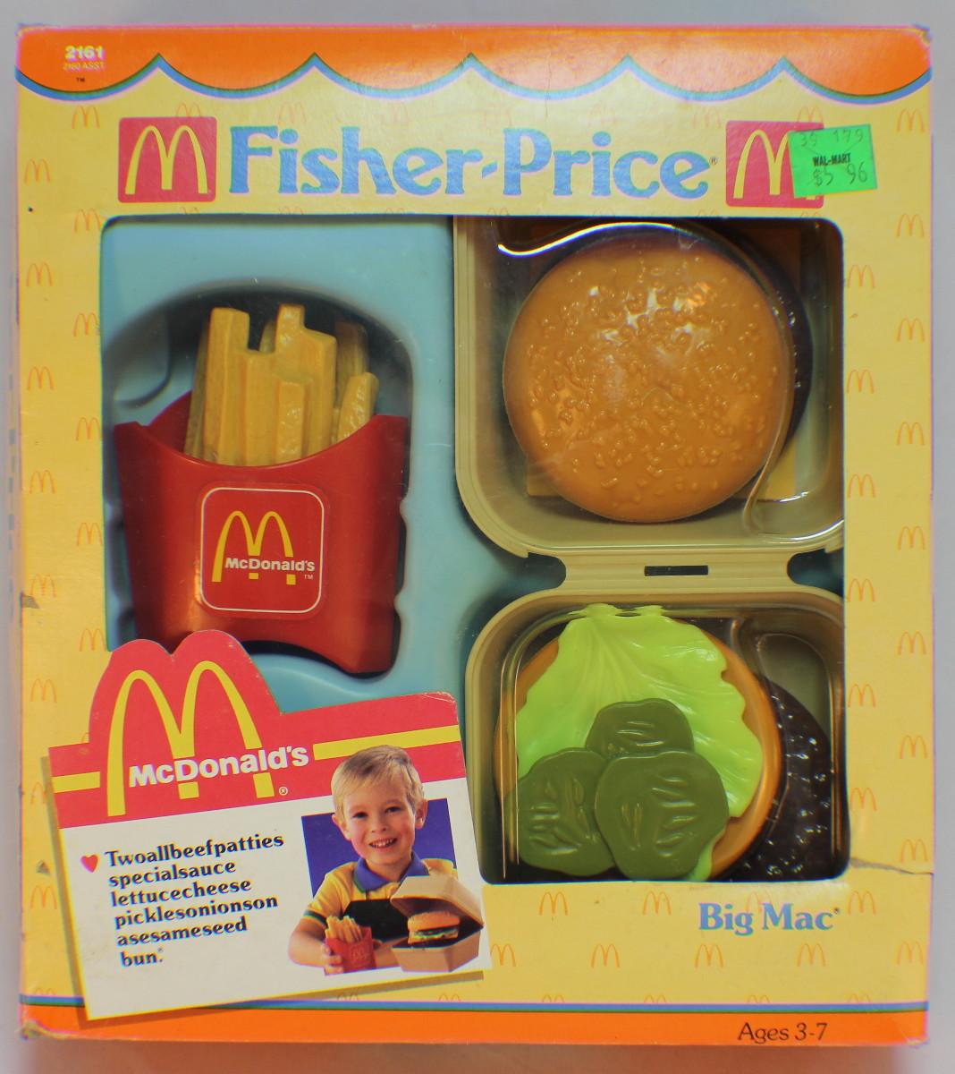 Fisher price fun with food mcdonalds big mac 2161 1988 - Cuisine fisher price bilingue ...