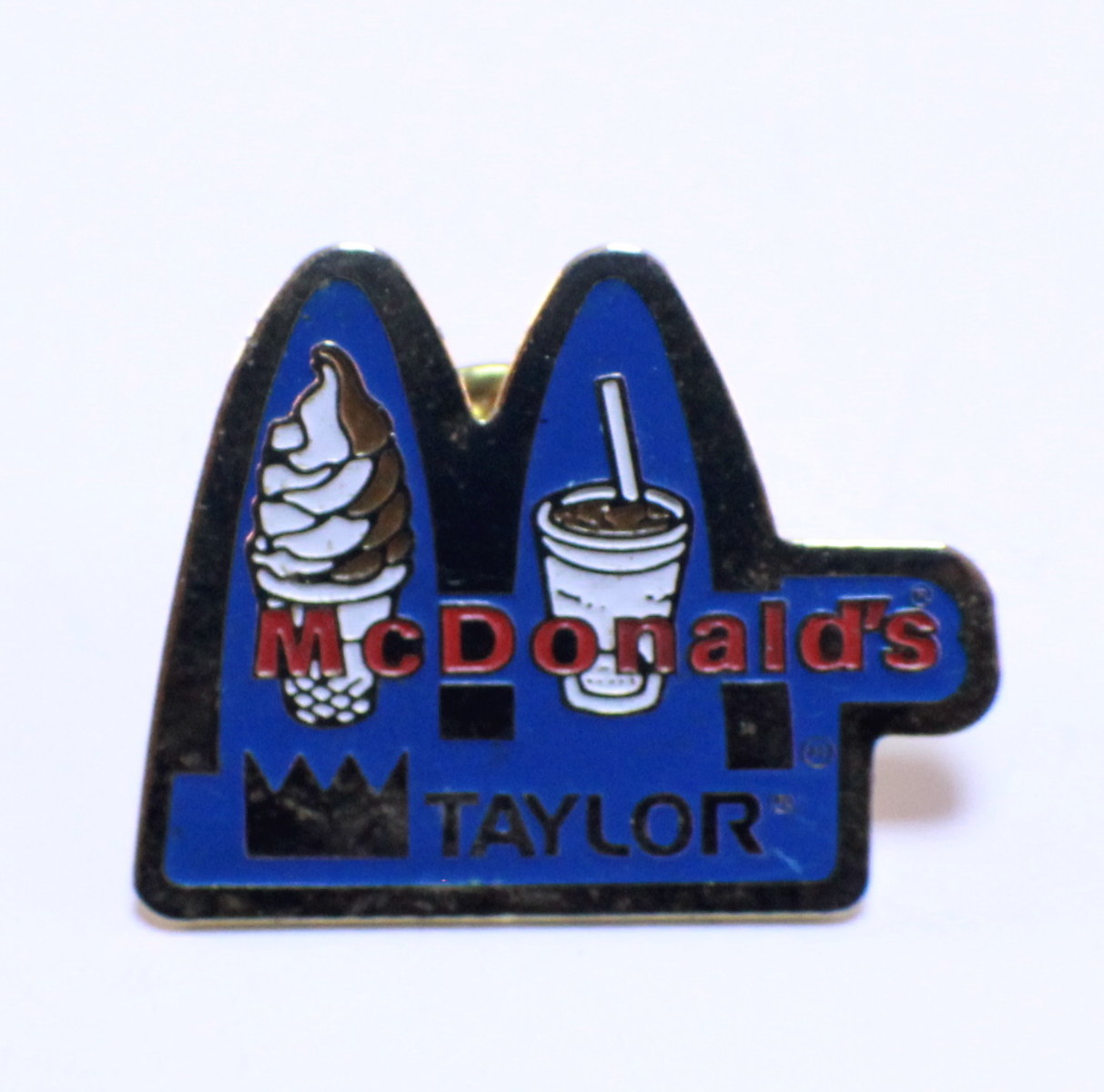 Mcdonald S Hat Pins: Mcdonalds Collector Hat Lapel Pin Arches Taylor