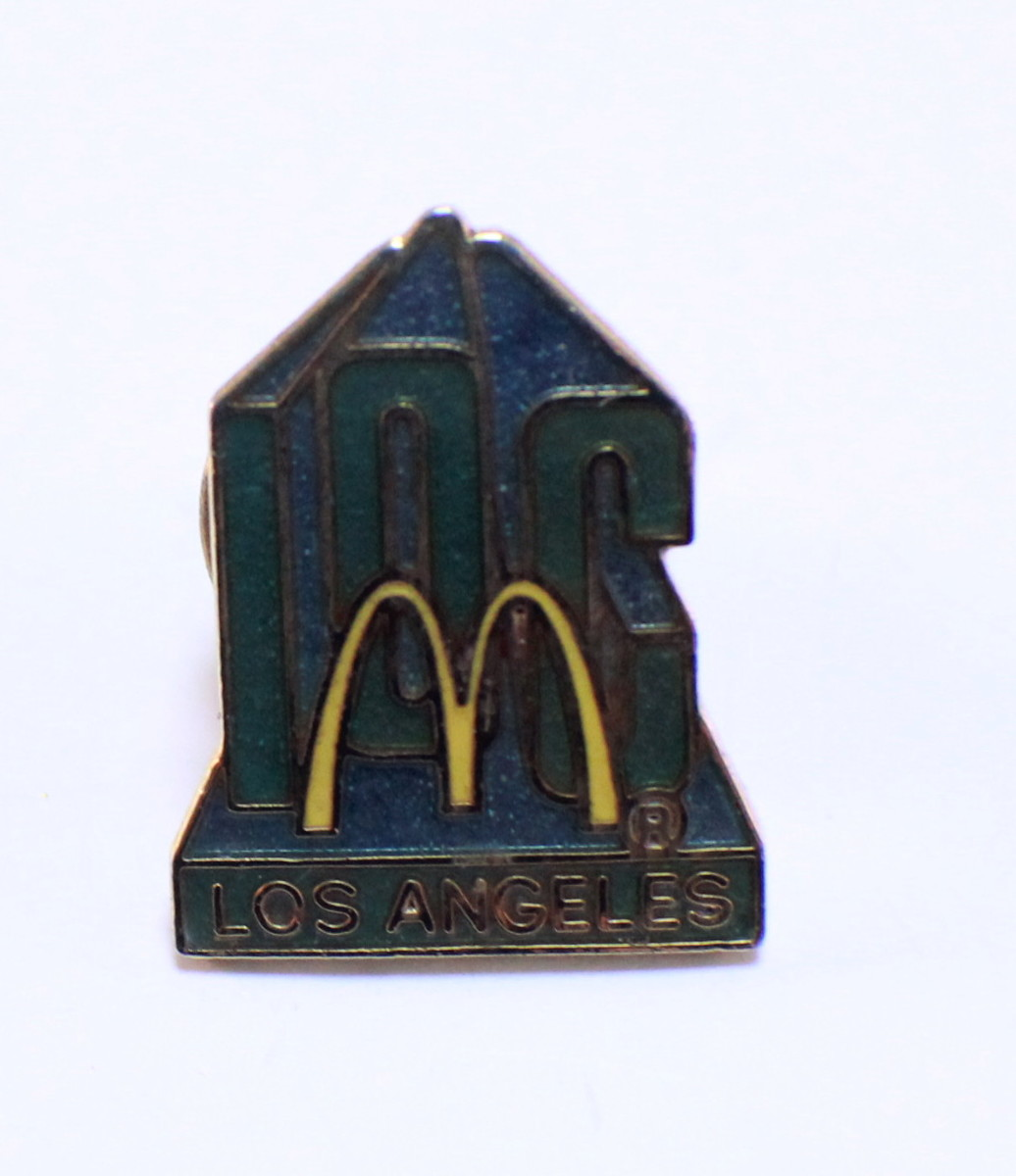 Mcdonald S Hat Pins: Mcdonalds Collector Hat Lapel Pin Los Angeles